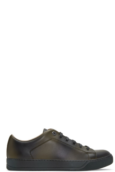Lanvin - Green Leather Sneakers