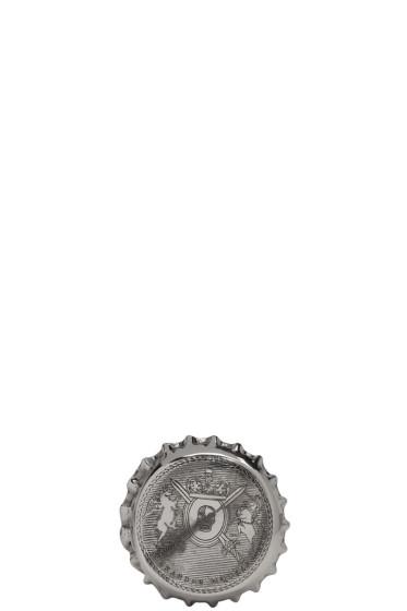 Alexander McQueen - Silver Cap Ring
