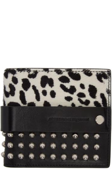 Alexander McQueen - Black Punk Bifold Wallet