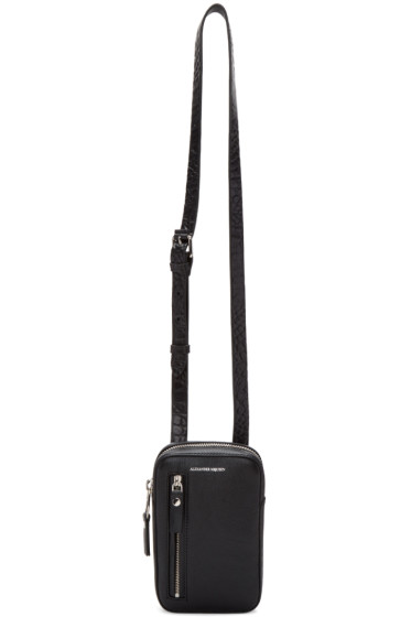 Alexander McQueen - Black Small Pouch Crossbody Messenger Bag