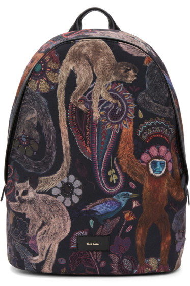 Paul Smith - Multicolor Monkey Backpack