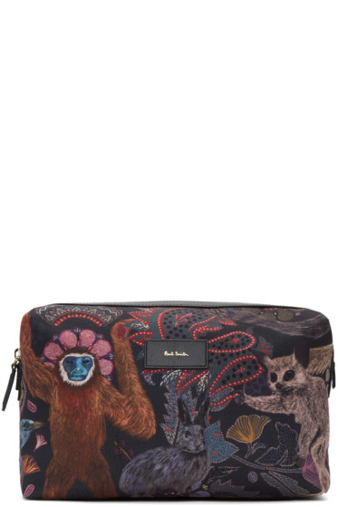 Paul Smith - Multicolor Monkey Washbag Pouch