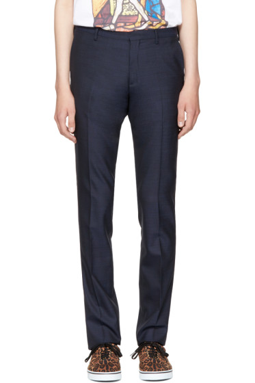 Paul Smith - Navy Slim Trousers