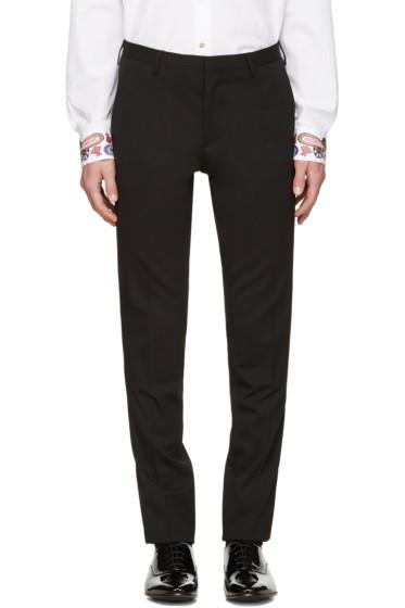 Paul Smith - Black Wool Trousers