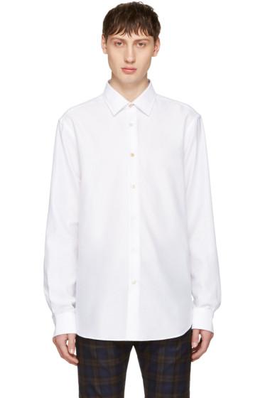Paul Smith - White Charm Button Shirt