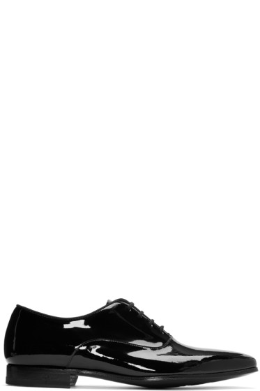 Paul Smith - Black Patent Fleming Oxfords