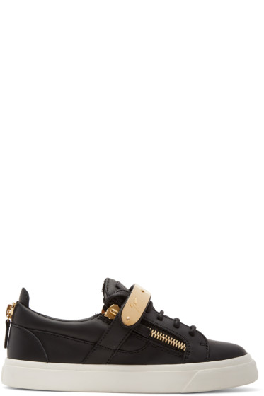 Giuseppe Zanotti - Black London Sneakers