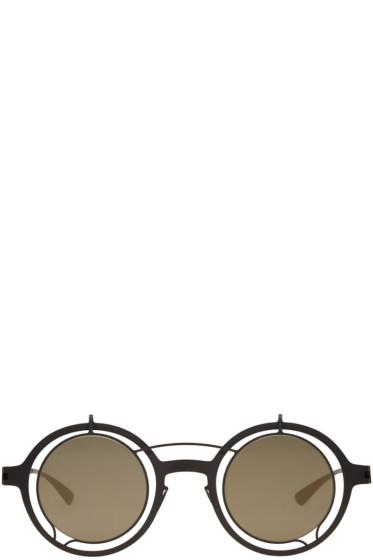 Damir Doma - Black Mykita Edition Madeleine Sunglasses