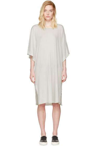 Raquel Allegra - Off-White Kimono Dress