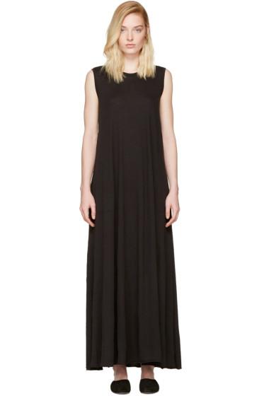 Raquel Allegra - Black Drama Maxi Dress