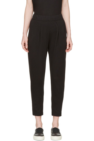 Raquel Allegra - Black Easy Lounge Pants