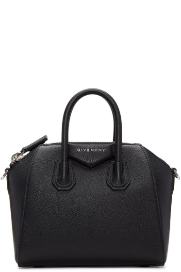 Givenchy - Black Mini Antigona Bag