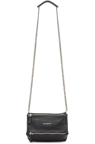 Givenchy - Black Mini Chain Pandora Bag