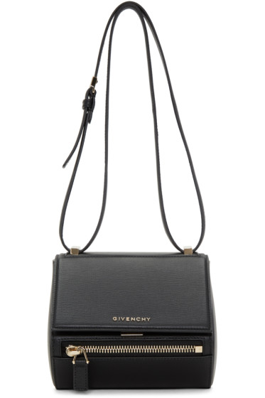 Givenchy - Black Mini Pandora Box Bag