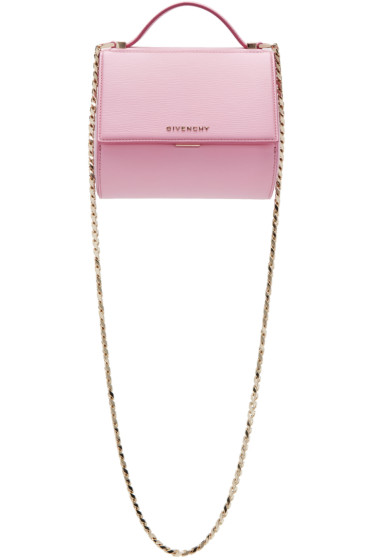 Givenchy - Pink Mini Pandora Box Chain Bag