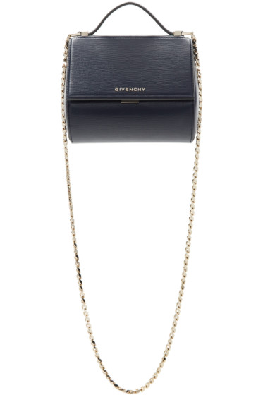 Givenchy - Blue Mini Pandora Box Chain Bag
