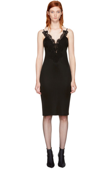 Givenchy - Black Lace Cami Dress