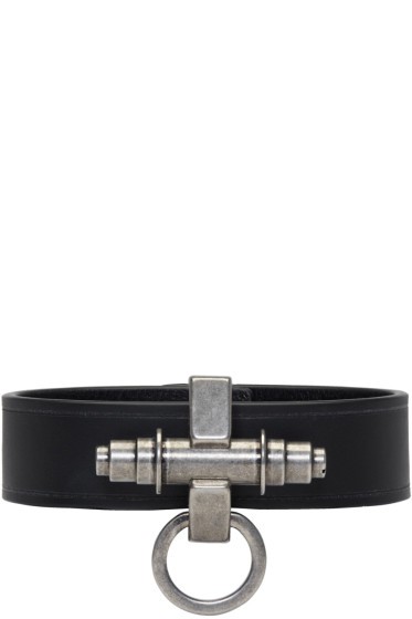 Givenchy - Black Simple Obsedia Bracelet