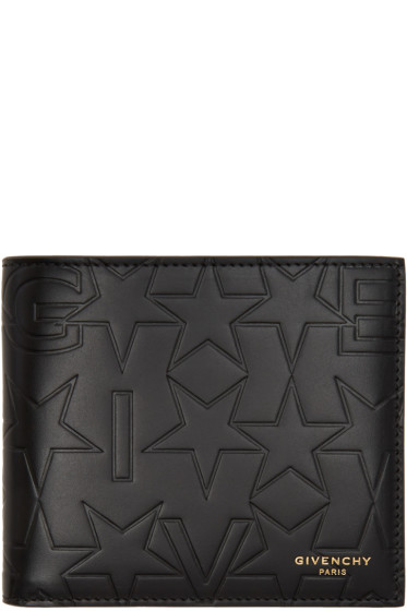 Givenchy - Black Embossed Logo Wallet