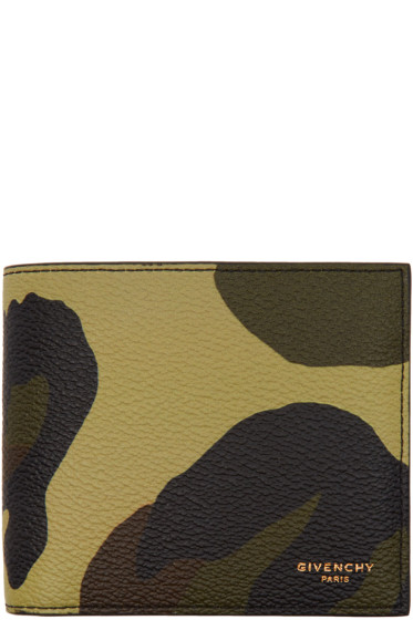 Givenchy - Green Camo Wallet
