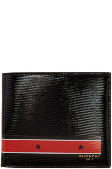 Givenchy - Black & Red Stars & Stripes Wallet