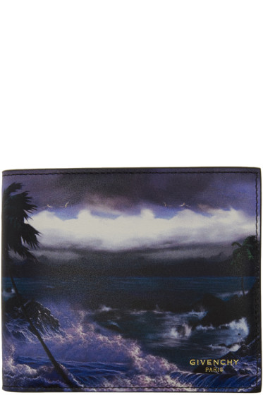 Givenchy - Multicolor Blue Hawaii Wallet