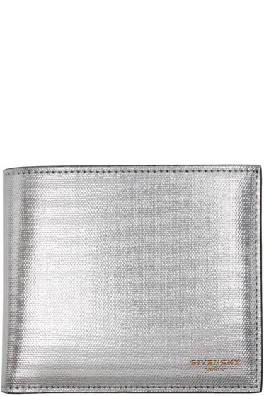 Givenchy - Silver Leather Wallet