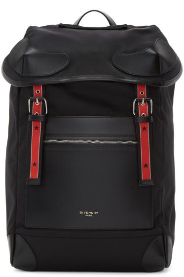 Givenchy - Black Ryder Backpack