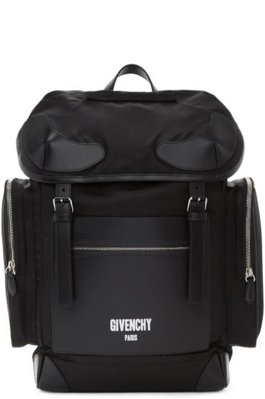 Givenchy - Black Logo Ryder Backpack