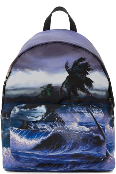 Givenchy - Multicolor Urban Blue Hawaii Backpack