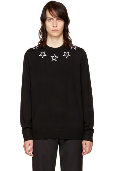 Givenchy - Black Stars Crewneck Sweater