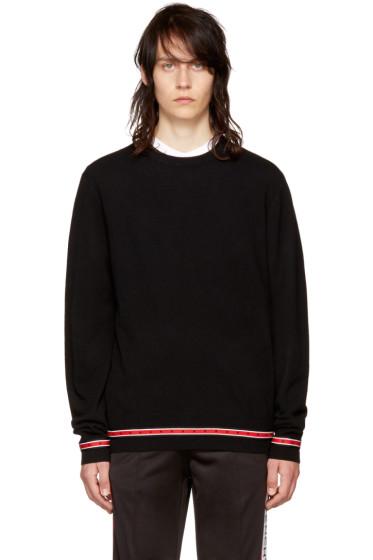 Givenchy - Black Iconic Band Sweater