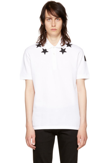 Givenchy - White Stars Polo