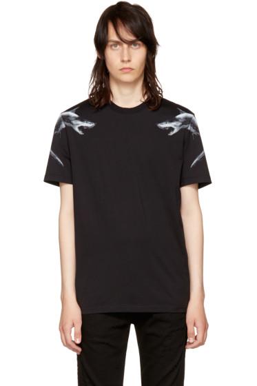 Givenchy - Black Sharks 74 T-Shirt