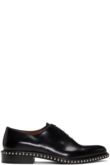 Givenchy - Black Studs Derbys