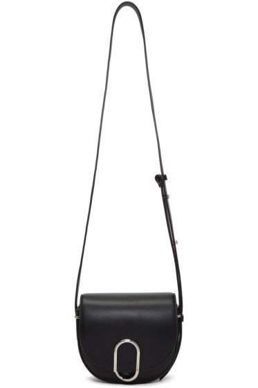 3.1 Phillip Lim - Black Mini Alix Saddle Bag