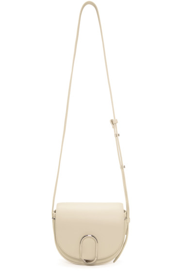 3.1 Phillip Lim - Off- White Mini Alix Saddle Bag
