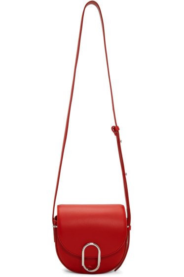 3.1 Phillip Lim - Red Mini Alix Saddle Bag