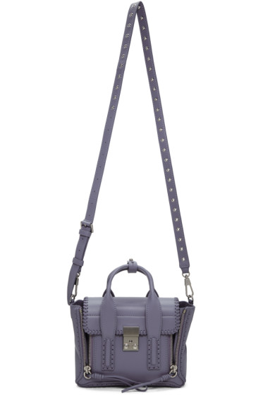 3.1 Phillip Lim - Purple Mini Pashli Satchel