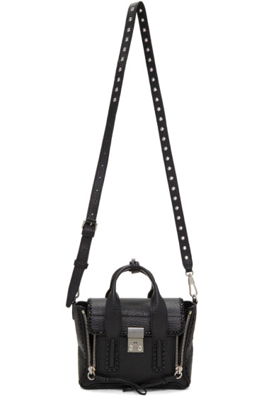 3.1 Phillip Lim - Black Mini Pashli Satchel