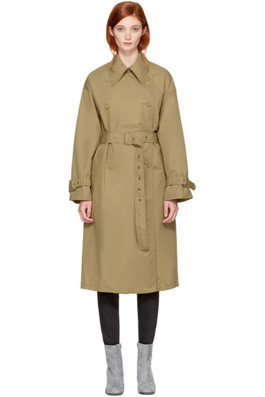 3.1 Phillip Lim - Khaki Double-Faced Trench Coat
