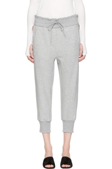 3.1 Phillip Lim - Grey Jogger Lounge Pants