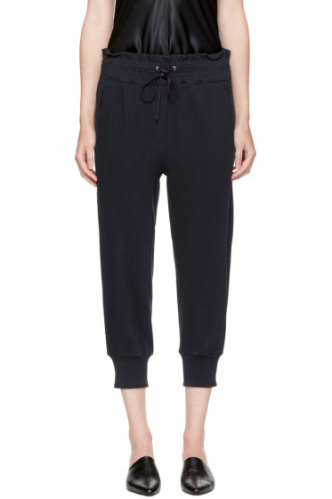 3.1 Phillip Lim - Navy Jogger Lounge Pants