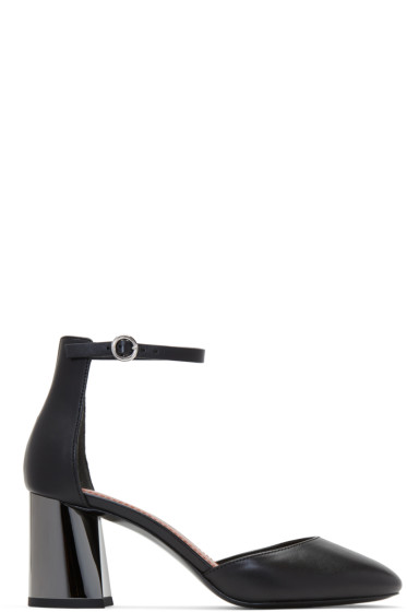 3.1 Phillip Lim - Black Drum Mary Jane Heels