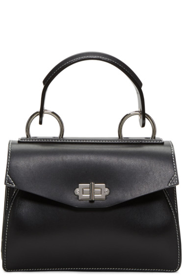 Proenza Schouler - Black Small Hava Top Handle Bag