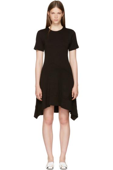 Proenza Schouler - ブラック アシンメトリック ウエスト ドレス