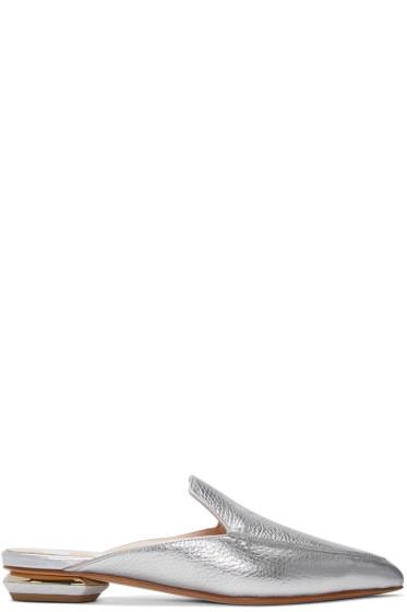 Nicholas Kirkwood - シルバー ベイヤ ミュール