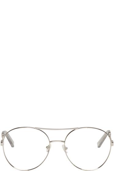 Chloé - Silver Aviator Glasses