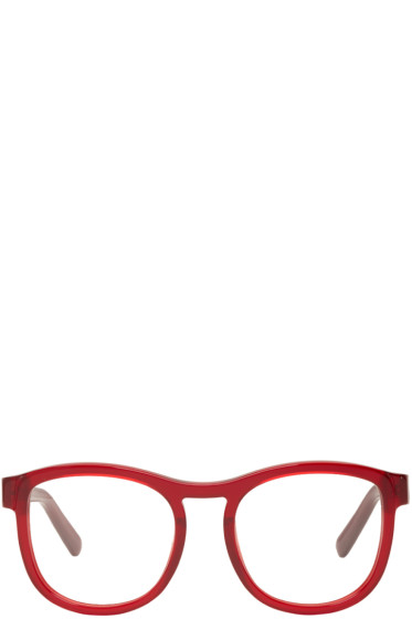 Chloé - Red Round Glasses