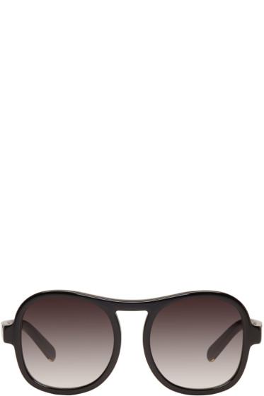 Chloé - Black Round Sunglasses